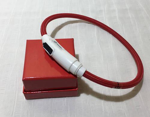 Светящийся ошейник Croci Led Nylon USB 40 см красный для собак