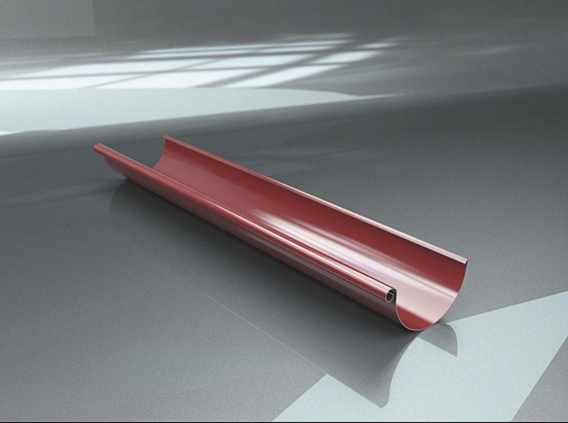 Желоб 125 4м металлический, фото 1