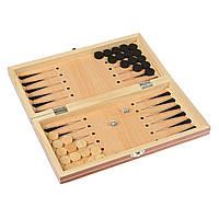 Набор 3 в 1 Шахматы Шашки Нарды 24 х 45 см