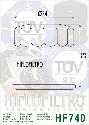 Масляный фильтр HF740, фото 2