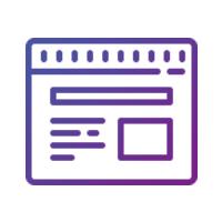 Разработка элементов уникального дизайна главной страницы (за исключением шапки сайта)