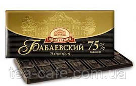 Шоколад Бабаевский Элитный 75% 100 гр.