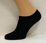 Укороченные летние женские носки черного цвета
