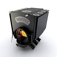Печь варочная со стеклом и конфоркой тип 01 (260м.куб)  – Vancouver Lux. Скидка+доставка