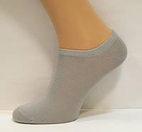 Низкие женские носки серого цвета, фото 1