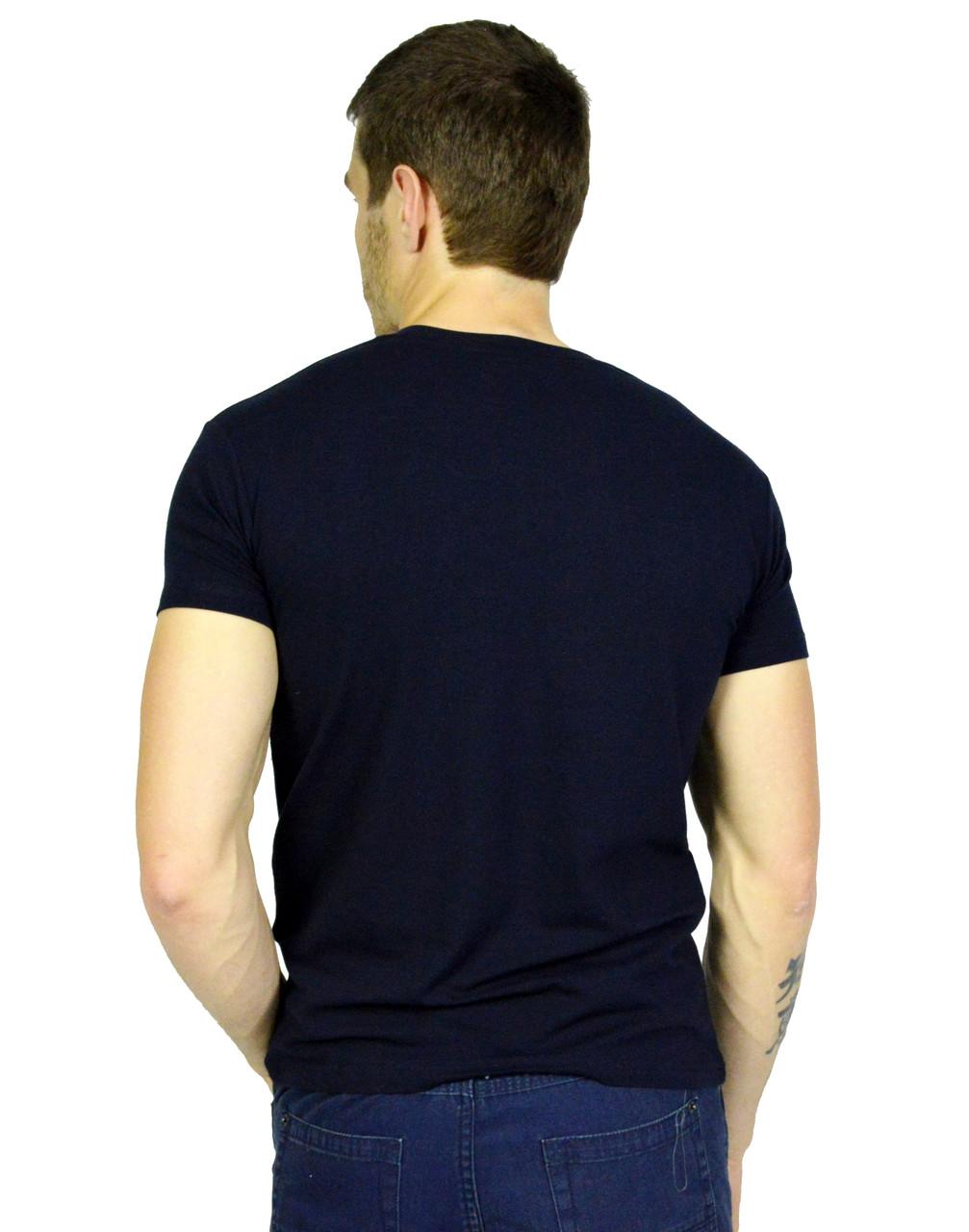 1bc094a307dd Темно-синяя мужская футболка с рисунком PUMA  продажа, цена в ...