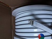 Гибкий Лед Неон RGB двухсторонний 220V IP67, фото 1