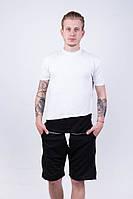 """Мужская футболка """"Dark Side"""" white black"""