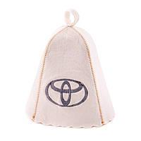 Шапка для сауны с вышивкой 'Тойота, Saunapro