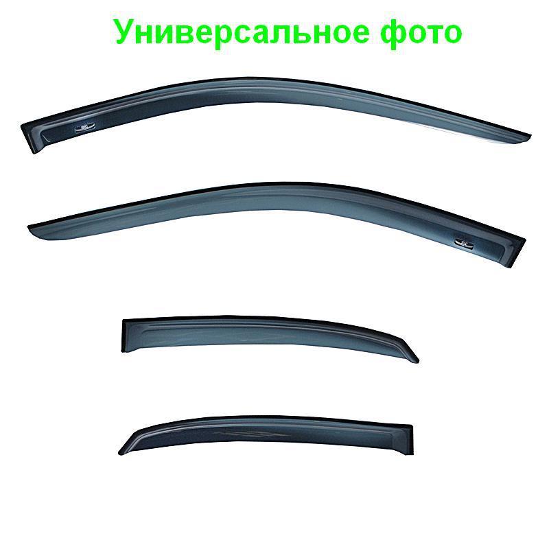 Ветровики на БМВ Е60 2004-2011 Седан Хик накладные
