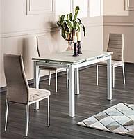"""Скляний стіл """"Turin"""" (4 кольори) 110*70см"""
