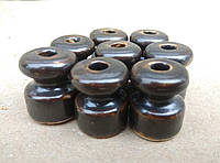 Ролик керамический коричневый «браунинг»