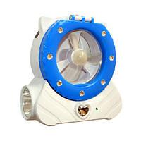 Фонарь-лампа с вентилятором и АКБ 5822Ф