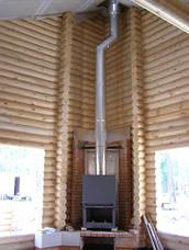Труба-сэндвич дымоходная (термо) 0,5 метра 1 мм н/н AISI 304, фото 3