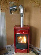 Труба-сэндвич дымоходная (термо) 0,5 метра 1 мм н/н AISI 304, фото 2