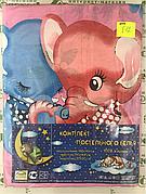812 Детский комплект постельного в кроватку, бязь ТМ Тиротекс
