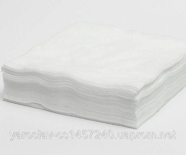 Салфетки 40*70 косметологические с перфорацией спанбонд, (100шт/уп нарезные)