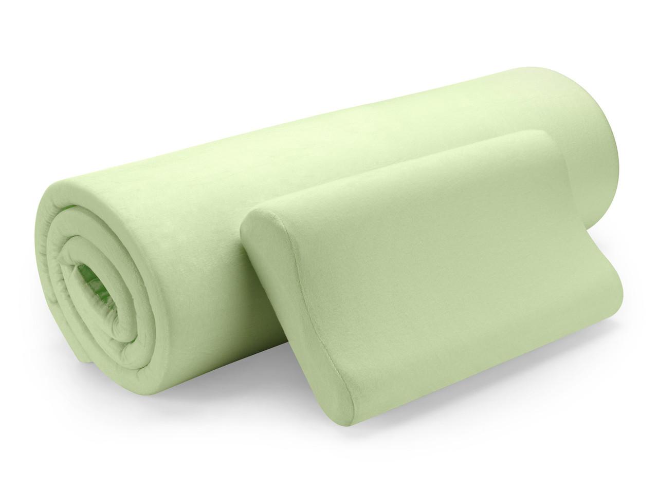 Комплект матрас+ подушка Dormeo Renew Eucalyptus 180*200