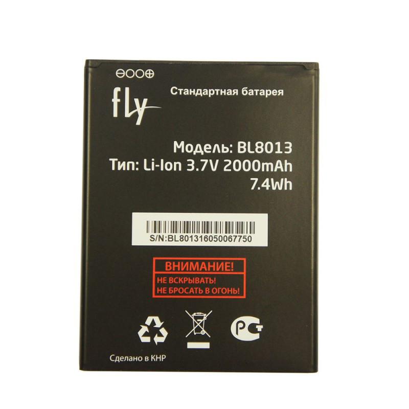 Аккумулятор на Fly BL8013 (Fly FS506 Cirrus 3), 2000mAh Оригинал