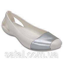 """Крокси. Crocs """"Сієна"""". Білий, фото 2"""