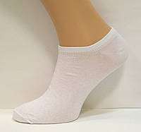 Носки низкие мужские белого цвета, фото 1