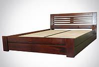 Кровать деревянная Альфа люкс, фото 1