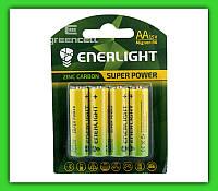 Батарейка ENERLIGHT Super Power AA, R6 1.5v 1x4