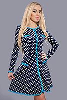 Женское трикотажное платье - новинка осени, р-ры 40,46