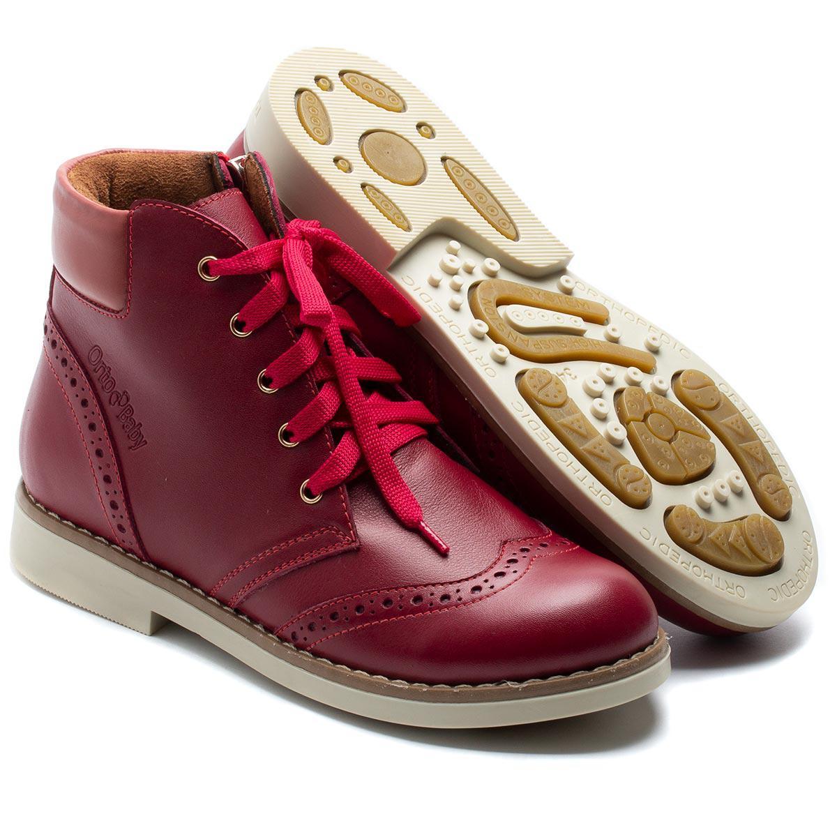 Ортопедические демисезонные ботинки FS Сollection  для девочки, размер 34-36