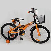 """Детский велосипед """"Racer-20"""" Оранжевый. 20 дюймов., фото 1"""