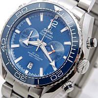 Часы OMEGA Seamaster(Planet Ocean).хронограф.Класс ААА, фото 1