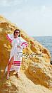 Пляжное платье лен, этно стиль Вита Кин, Bohemian стиль, фото 2
