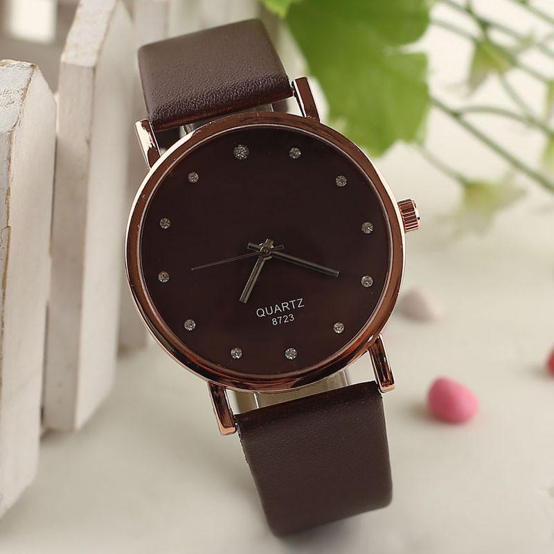 Наручные женские часы - Коричневые