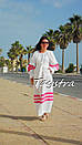 Пляжное платье лен, этно стиль Вита Кин, Bohemian стиль, фото 4