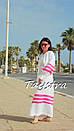 Пляжное платье лен, этно стиль Вита Кин, Bohemian стиль, фото 5