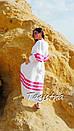 Пляжное платье лен, этно стиль Вита Кин, Bohemian стиль, фото 7