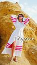 Пляжное платье лен, этно стиль Вита Кин, Bohemian стиль, фото 8