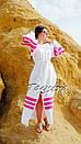 Пляжное платье лен, этно стиль Вита Кин, Bohemian стиль, фото 9