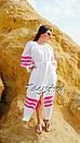 Пляжное платье лен, этно стиль Вита Кин, Bohemian стиль, фото 10