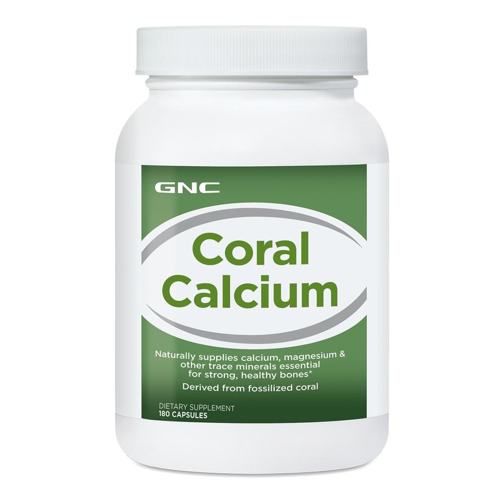 Вітаміни GNC Coral Calcium caps 180