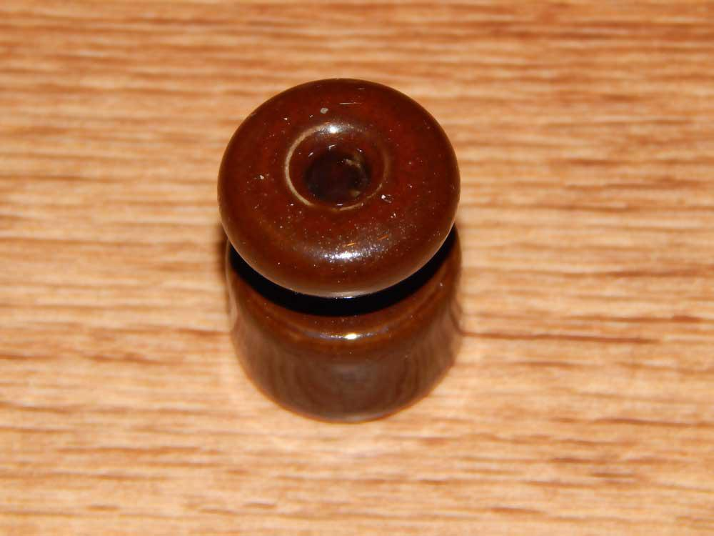 Ролик ZION керамический коричневый
