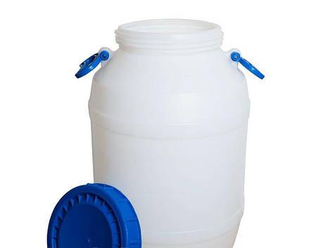 Бидон, бак, бочка 50 литров d21,1 пищевой емкость, фото 2