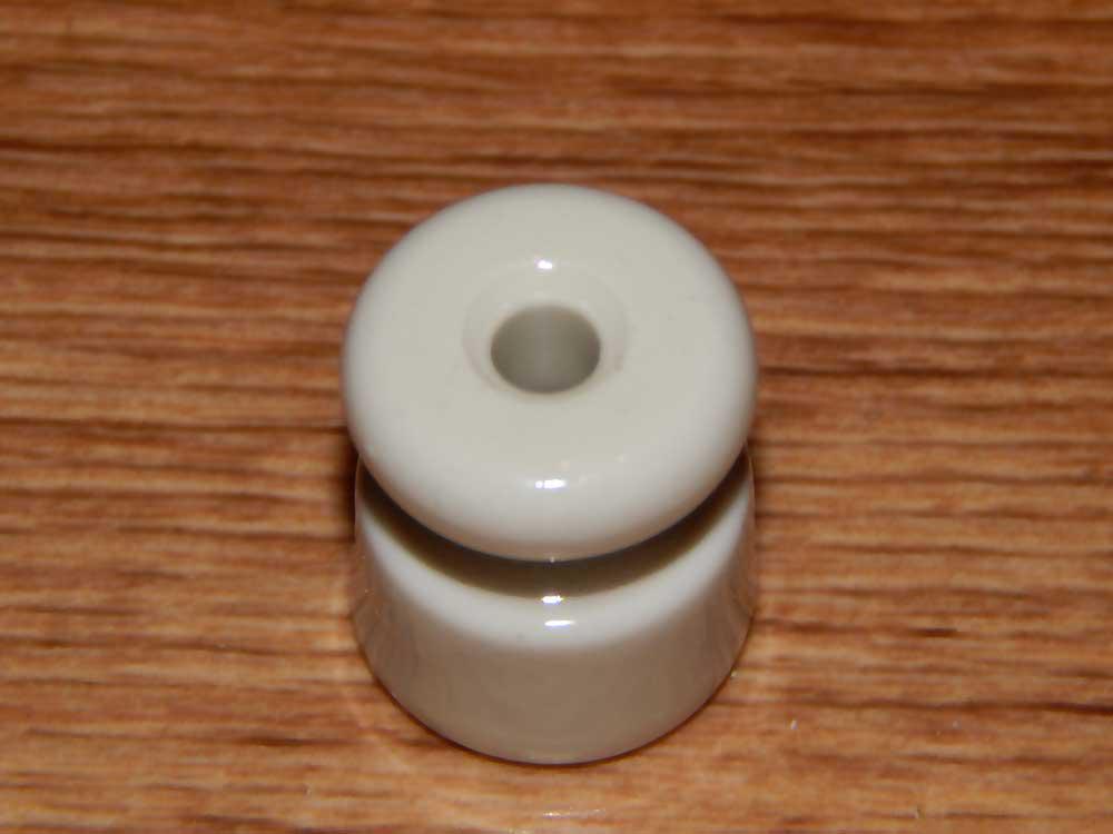 Ролик ZION керамический белый