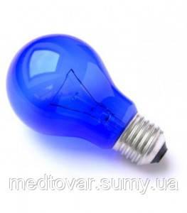 Синяя лампочка 60 Bт