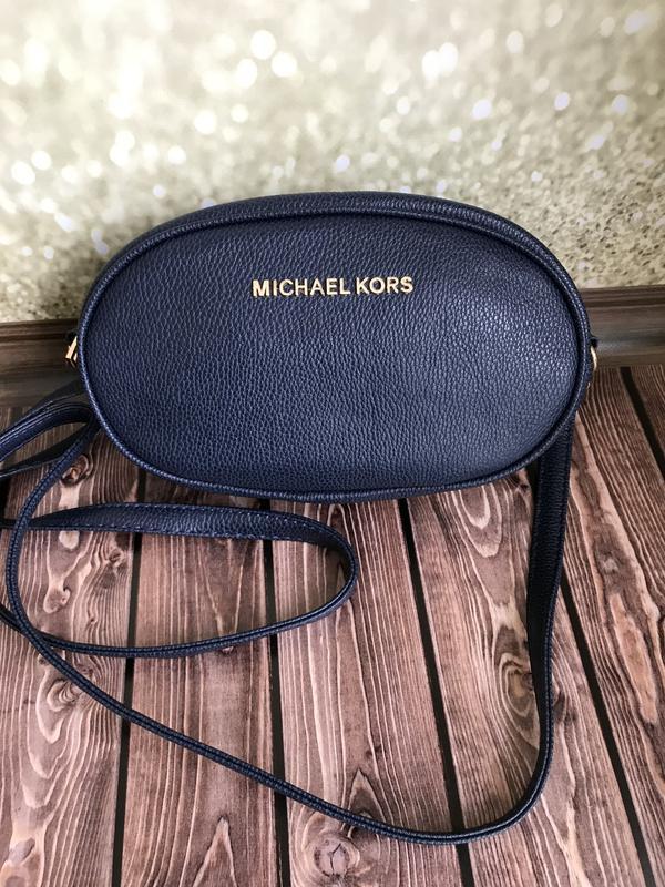 806fc77aaa79 Женская поясная сумка Michael Kors (Майкл Корс), синяя: продажа ...