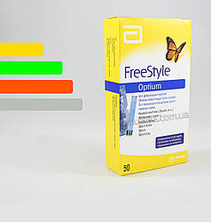 Тест полоски Freestyle Optium #50 -  Фристайл Оптиум