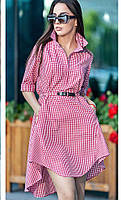 Платье Радмилла клетка, (2цв), летнее платье, платье на лето, сукня, плаття, платье в полоску, дропшиппинг, фото 1