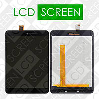 Модуль для планшета Xiaomi MiPad 2 Mi Pad 2, черный, дисплей + тачскрин, WWW.LCDSHOP.NET