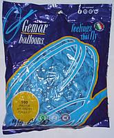 """Шары воздушные оптом голубой пастель """"Gemar"""" 5"""" (13 см) 100 шт./уп."""
