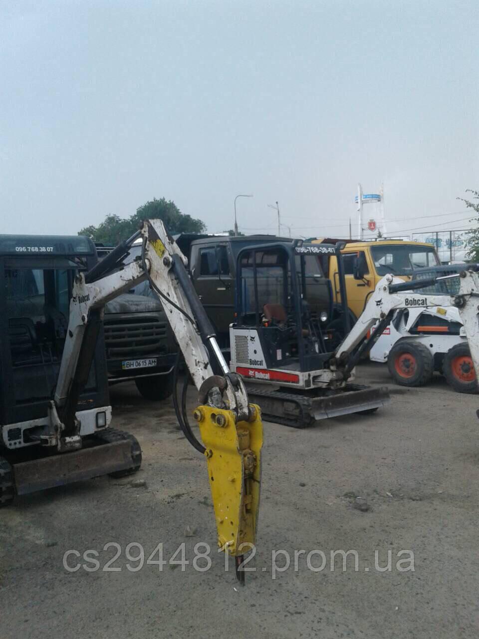 Услуги и аренда гидромолота в Одессе